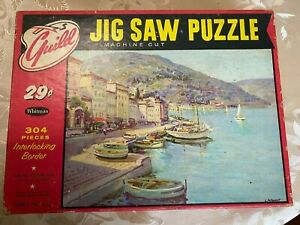 Vintage Guild Jig Saw Puzzle  Series 121 Boats
