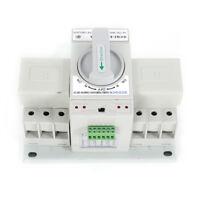 3P 63A Dual Power Automatic Transfer Switch 50HZ/60HZ Changeover Switch 110V USA