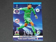 SIRIGU PARIS SAINT-GERMAIN PSG UEFA PANINI FOOTBALL CHAMPIONS LEAGUE 2014 2015