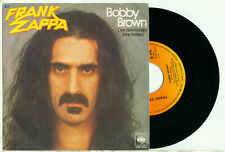 "FRANK ZAPPA – Bobby Brown / Stick it Out (1979 GERMAN PS NMINT VINYL SINGLE 7"")"
