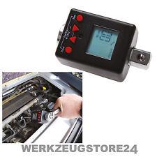 """BGS Digitaler Drehmoment-Adapter 1/4"""" 6-30 Nm Knarre Ratschen Schlüssel Werkzeug"""