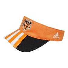 Houston Dynamo MLS Adidas Adjustable Visor Hat, Orange