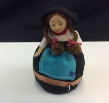 "Vintage Pin Cushion and Tape Measure 5"" Doll"