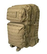 Mochila Miltec Coyote molle Laser LG 36 litros estilo militar Mil-tec casual