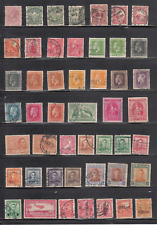 New Zealand Selection of Older Stamps