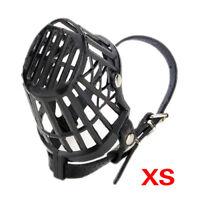 Dog Pet Puppy Muzzle Basket Cage xS K5G4