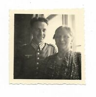 Foto, Soldat in Uniform, Frau,