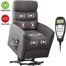 Power Lift Massage Recliner Chair w/ Heat Vibration Remote Control for Elderly