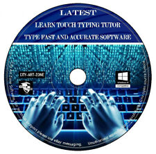 Learn Touch Typing Tutor Fast Accurate Latest Edition Practice Improve Typing CD