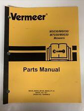Vermeer Parts Manual M5030m6030m7030m8030