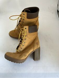 """Timberland Camdale Chunky 6"""" A1SEE Ankle Bootie - Women's Size 6.5 V829"""