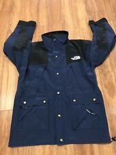 Vtg 90s Blue the North Face Parka Mountain Guide Expedition Jacket Gore Tex Sz M