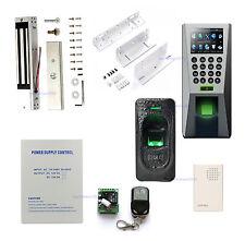 F18 Fingerprint + lector esclavo FR1200 para sistemas de control de entrada y sa
