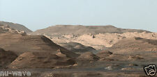 NASA's Curiosity Rover Stunning Photo of Mars Landscape-Large 9x19 Glossy Photo