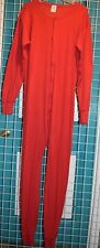 Indera Mens Sz XL Red Union Suit One Piece Long Johns Hunting Snowboard Skiing