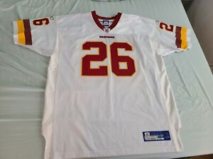 Reebok authentic Washington Redskins Clinton Portis Jersey sz 54 XXL 2XL defunct