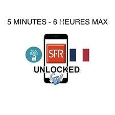 Sfr Code de déblocage Unlock Iphone Samsung Nokia Sony ...