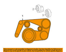 Mercedes MERCEDES-BENZ OEM 02-07 C230-Serpentine Drive Fan Belt 0139977492