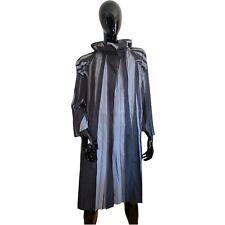 ISSEY MIYAKE Designer Mantel Kurzmantel Jacke Damen Grau Kapuze Gr. 3 L 40/42