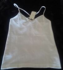 New Temt cream singlet Size S