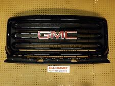 84193030 2015 2016 GMC Canyon OEM Painted Grille Black - GBA (8555)
