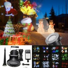 12Pattern Christmas Stage Light Moving Laser Projector Landscape Lamp Waterproof