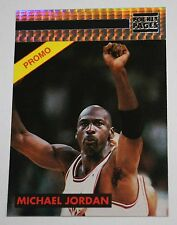 Michael Jordan 1993 Playoff MVP Chicago Bulls THREE PEAT Promo Basketball card