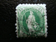 SUISSE - timbre - yvert et tellier n° 82 obl (dent courte (A8) stamp switzerland