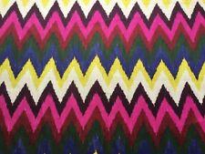 """Schumacher Curtain Fabric """"Adras Ikat Print"""" 1m Jewel-Martin Lawrence Bullard"""