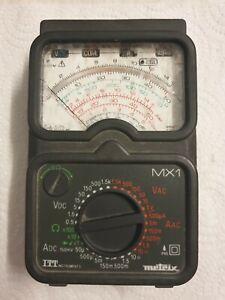 Multimètre Metrix MX1