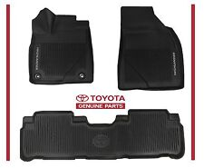 2017 2016 HIGHLANDER  Toyota All Weather Floor Liner Mat Set PT908-48165-02