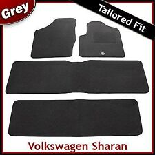 Volkswagen VW Sharan Tailored Fitted Carpet Car Mats GREY (1999 - 2006) 1 Clip