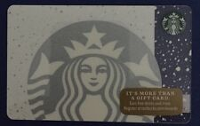 Starbucks Snowflake White Mermaid Card