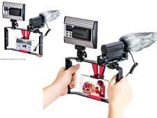 Smartphone video rig Case Iphone Teléfono Samsung x Rig Estabilizador Para Live Stream