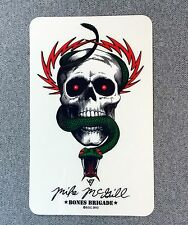 Powell Peralta Mike McGill Skull Snake Skateboard Sticker 6in si
