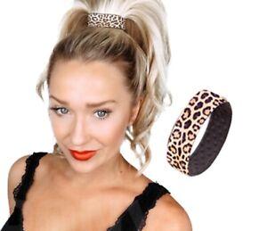 PONY-O Hair Band Leopard Slim style PONY 2