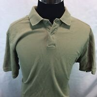 Tommy Bahama Mens Short Sleeve Polo Shirt Top Size XL Olive Green