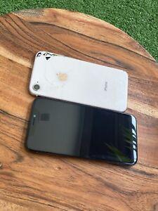 Apple iPhone X - Space Gray (Unlocked) + Apple iPhone 8. Rose Gold ( Unlocked )