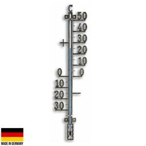 NEW TFA Tyson Outdoor Weatherproof Metal Thermometer, Antique Tin, 41cm