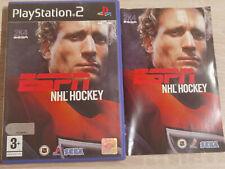 ESPN NHL HOCKEY SONY PS2 PLAYSTATION 2 SLIM