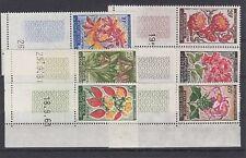Pflanzen - Blumen   Elfenbeinküste  6 Werte  **  (mnh)