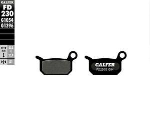 GALFER FD230G1054 Carbon Semi-Metallic Brake Pads
