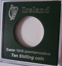 Display In Case (no coin) Ireland 1966 Pearse Easter Uprising Ten Shilling Coin