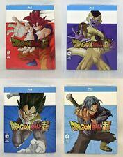 Dragon Ball Super Part 1 – 4 – US Import Blu Ray – Region A – Brand New & Sealed