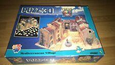 MIB Puzz-3D Mediterranean Village Puzzle 880 Pieces Difficult Wrebbit