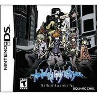 The World Ends with You (Nintendo DS, 2008) GAME CARTRIDGE ONLY TESTED & WORKING