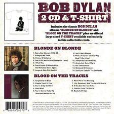 Bob Dylan Scatola con 2 CD & T-Shirt (L) RARE BOX