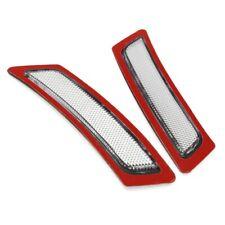 Pair Clear Front Bumper Side Marker Reflectors For BMW F10 528i 535i 550i 11-14