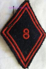 IN13904 - TISSU PATCH LOSANGE DE BRAS 8° Régiment d'Iinfanterie
