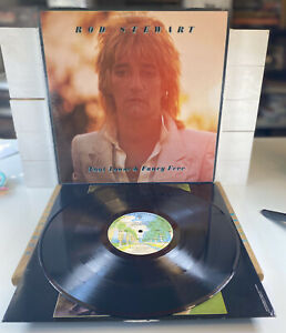 Rod Stewart Foot Loose And Fancy Free Album 1977 Vinyl Vintage Rock Music CLEAN